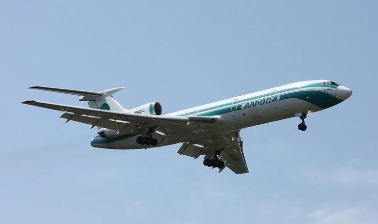Пассажирский Ту-154 совершил последний полёт