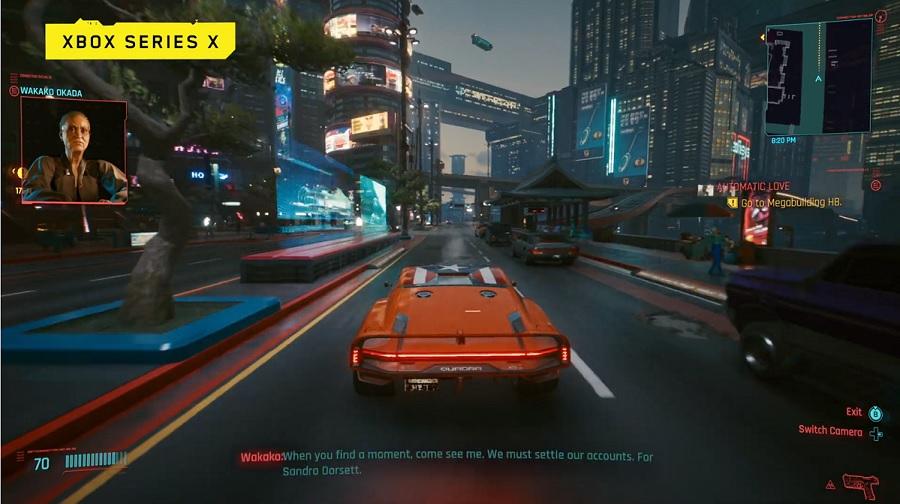 Представлены 10 минут геймплея Cyberpunk 2077 на Xbox One X и Series X