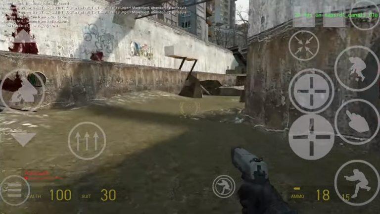 Разработчик-одиночка портировал Half-Life 2 и Portal на Android