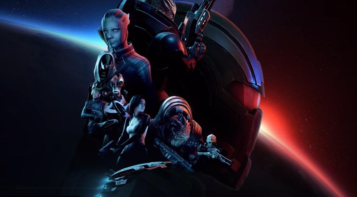 Переиздание трилогии Mass Effect выйдет в 2021 году