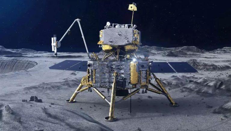 Китайская станция «Чанъэ-5» осуществила посадку на Луну