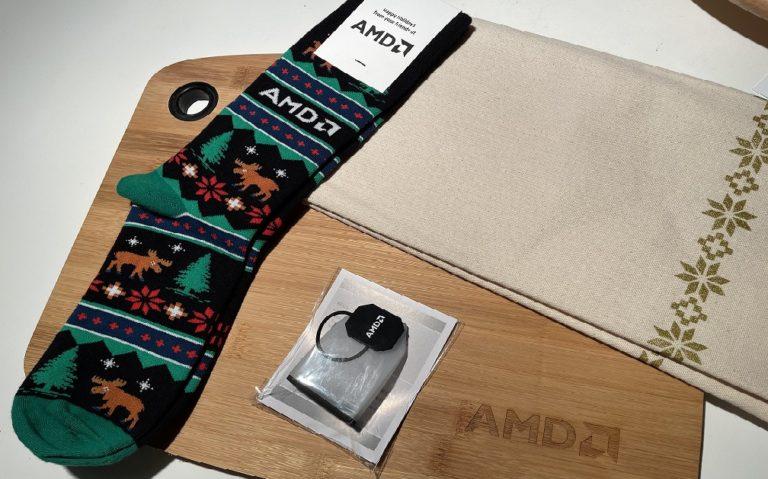 AMD в конце года подарит сотрудникам вещи для дома с собственным логотипом