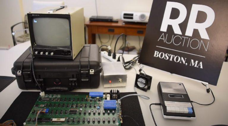 Готовится аукцион по продаже одного из шести сохранившихся компьютеров Apple 1