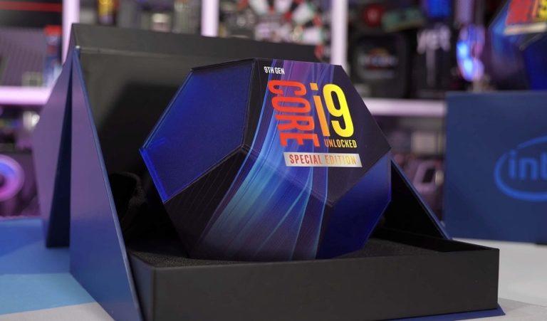 Intel прекращает поставки процессоров Core 9го поколения