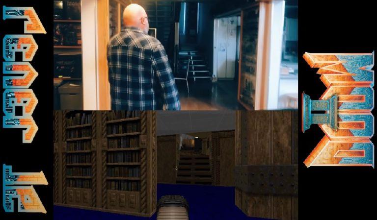 Автор уровней Doom II спрятал свой дом среди уровней игры