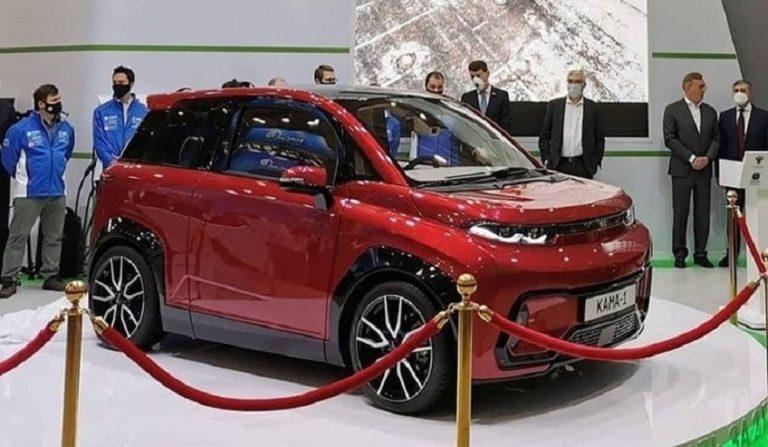 КАМАЗ представил электромобиль Кама-1