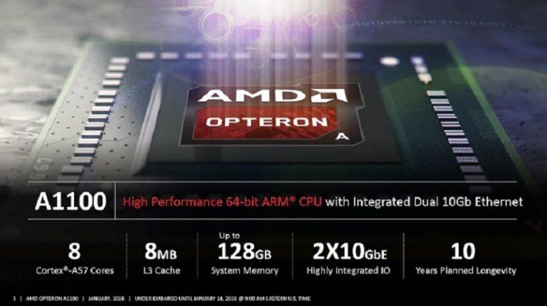 AMD возможно разрабатывает процессоры с архитектурой ARM