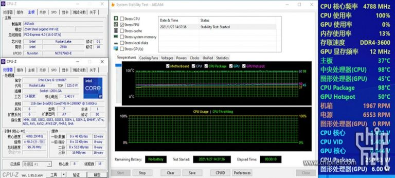 Core i9-11900KF может оказаться очень горячим