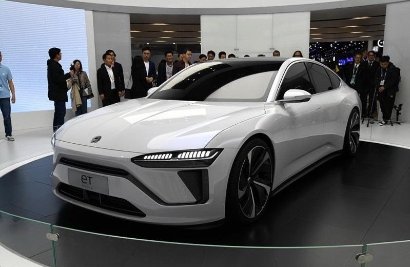 Китайская Nio представила электромобиль ET7 с запасом хода 1000 километров