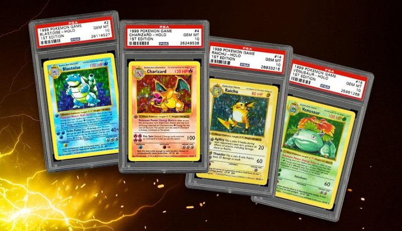 Первый набор карточек Pokemon ушёл «с молотка» за 403 тысячи долларов