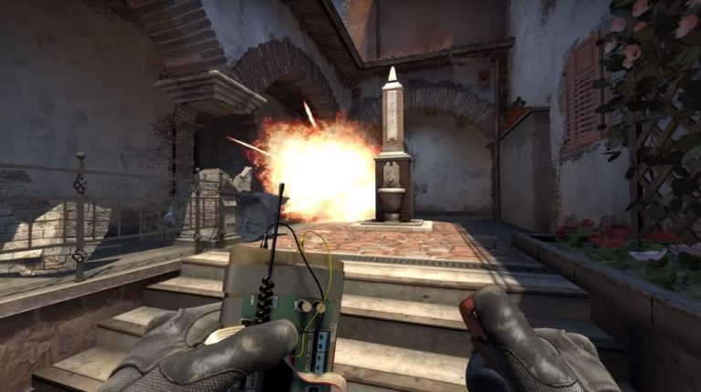 В CS:GO появилась карта с разрушаемыми элементами зданий