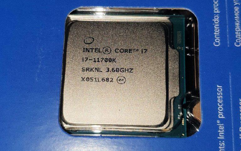Появился первый достоверный тест производительности Core i7-11700K