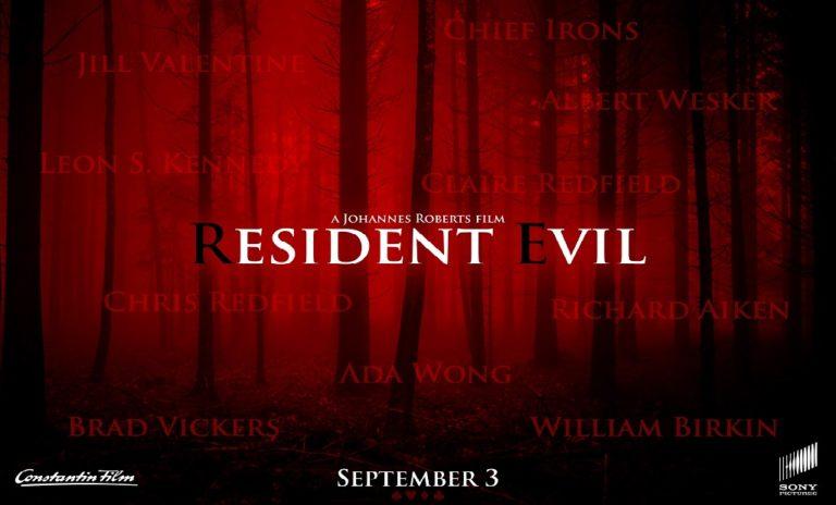 Опубликован первый постер к новой экранизации Resident Evil