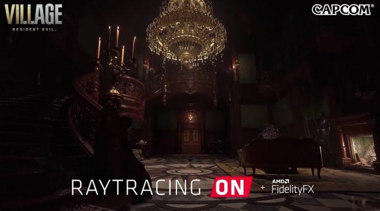 Официально подтверждено применение технологии трассировки лучей в Resident Evil 8: Village