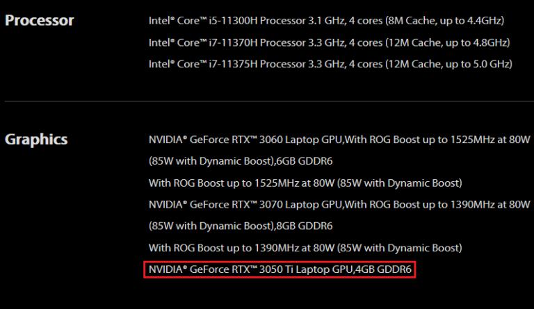 Подтверждено скорое появление видеокарты GeForce RTX3050Ti