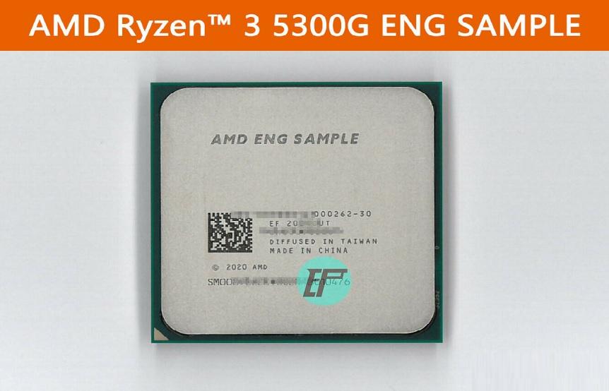 На аукционе Ebay появился неизвестный «инженерник» Ryzen 3 5300G