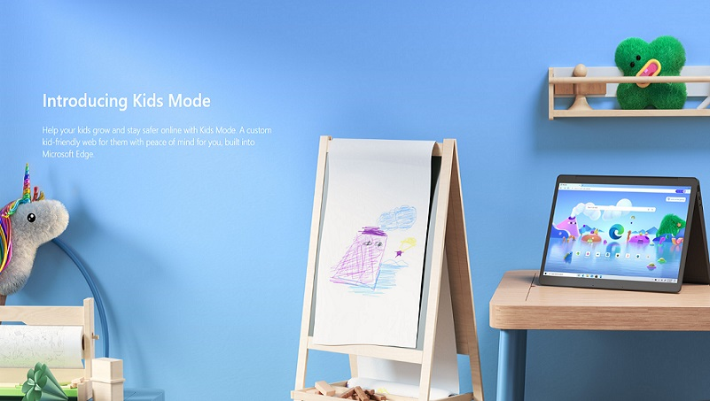 Microsoft добавила в браузер Edge детский режим