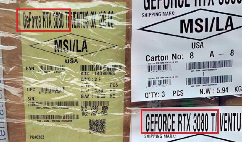 Стали известны характеристики GeForce RTX 3080 Ti