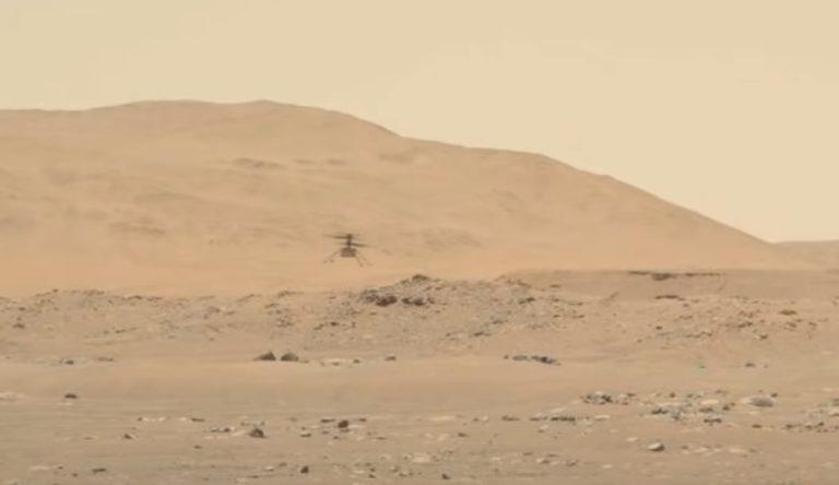 Марсианский вертолёт совершил два новых полёта