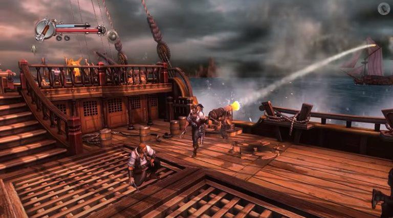 В сеть выложили рабочую версию отменённой российской игры «Приключения капитана Блада»