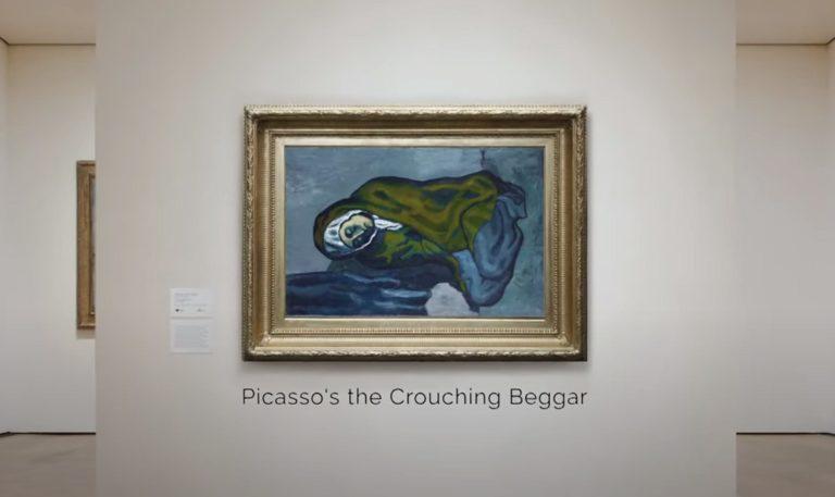 Внутри картины Пикассо нашли другой рисунок