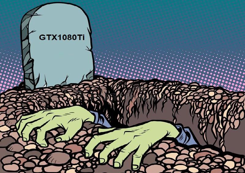 Nvidia может вернуть на рынок GeForce GTX 1080Ti