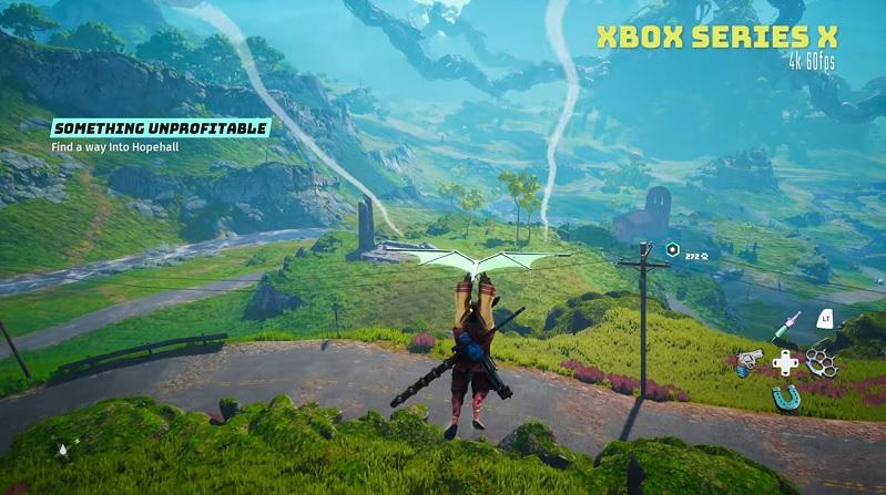 Разработчики игры «долгостроя» Biomutant выложили геймплей на PS5 и Xbox Series X