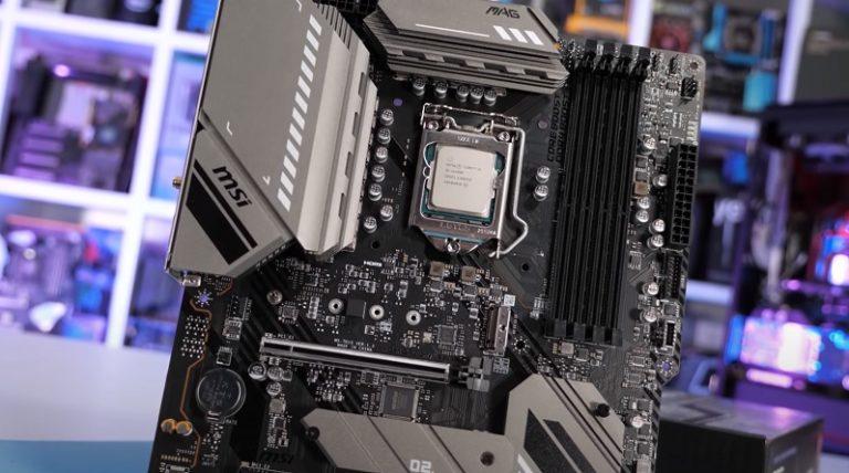 Процессоры Core 11го поколения плохо работают с бюджетными материнскими платами на чипсете B560