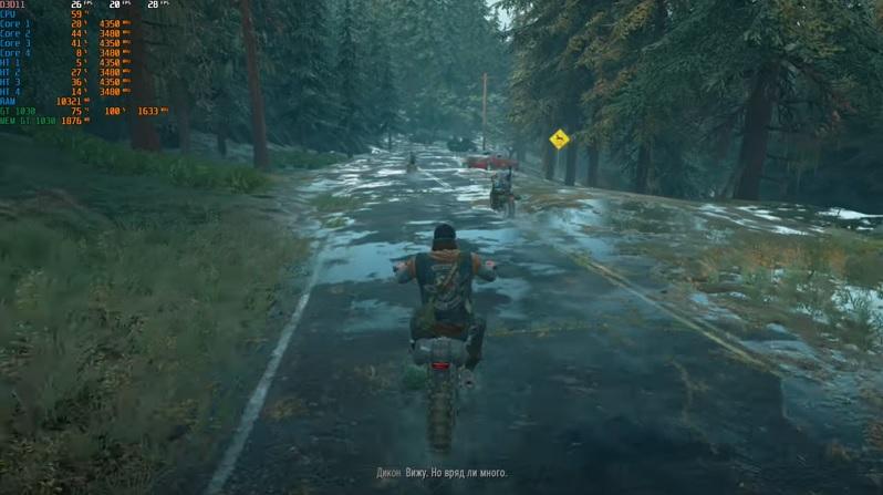ПК версия игры Days Gone имеет отличную оптимизацию
