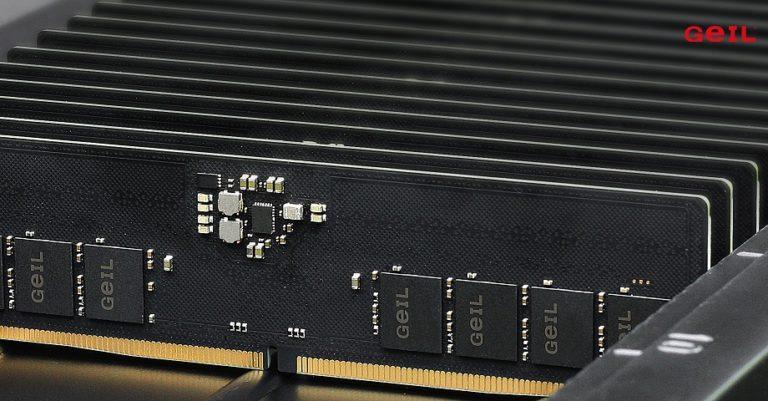 Тайваньский производитель ОЗУ GIEL выпустит линейку DDR5 с частотой до 7200Мгц