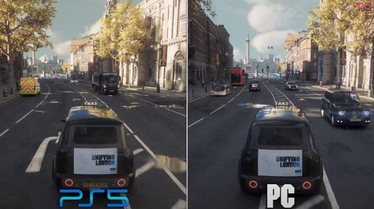 Качество картинки PS5 и компьютера с видеокартой GeForce RTX 3090 сравнили