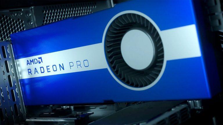 В сети замечен профессиональный видеоускоритель AMD Radeon Pro W6800