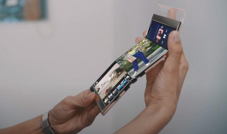 Samsung представила свои новые складные дисплеи
