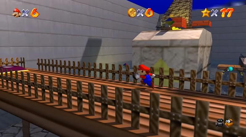 Super Mario 64 RT доступен для скачивания