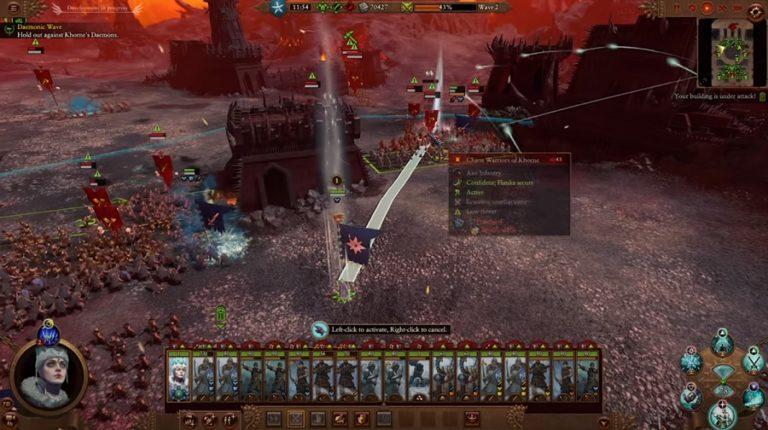 Представлен геймплей Total War Warhammer III
