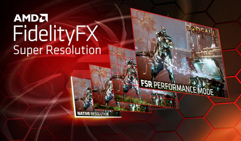 AMD выпустила FidelityFX Super Resolution — аналог Nvidia DLSS ускоряющий графику