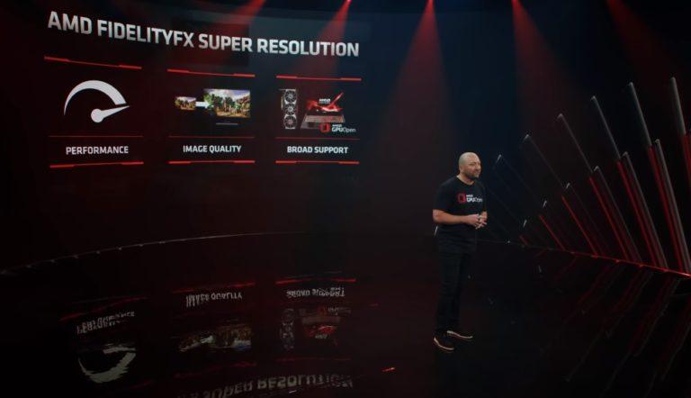 AMD представила FidelityFX Super Resolution — технологию увеличивающую производительность видеокарт аналогично Nvidia DLSS