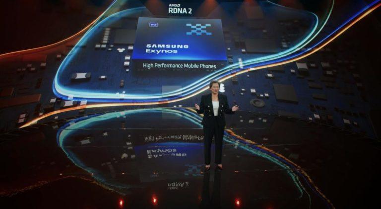 Samsung оснастит свои новые процессорные чипы графикой AMD RDNA2