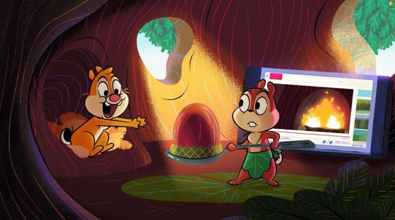 Вы ли это Чип и Дейл? Disney перезапускает истории о знаменитых грызунах