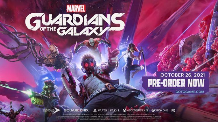 Square Enix анонсировала выпуск игры «Стражи Галактики»