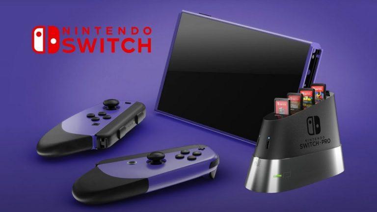 В ближайшие дни Nintendo представит обновлённую портативную игровую консоль Switch Pro
