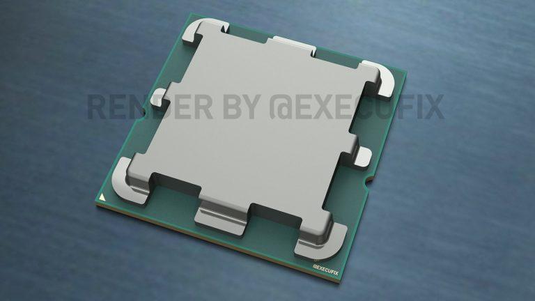 Показан внешний вид процессоров под сокет AM5