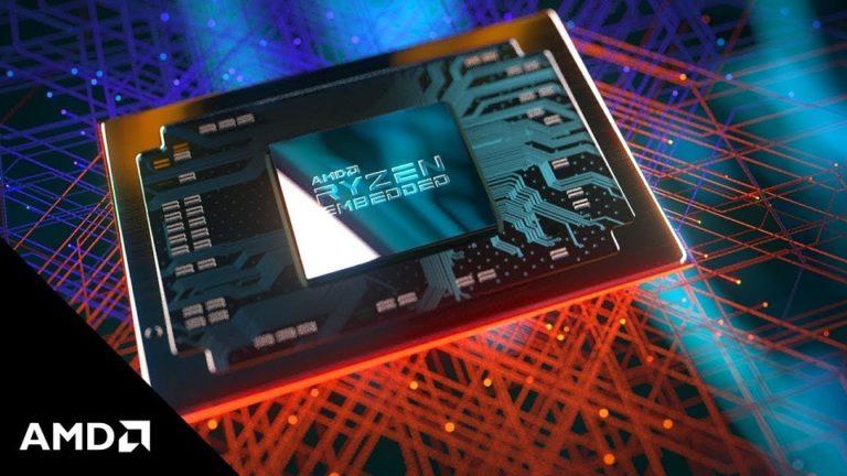 AMD готовит процессоры Ryzen Embedded V3000 на ядрах Zen3, с графикой RDNA2 и поддержкой DDR5