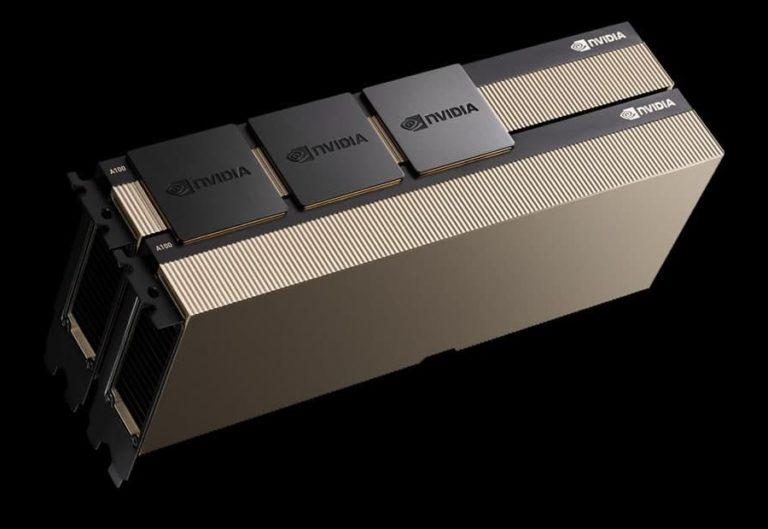 Nvidia готовит ускоритель вычислений A100 с 80 гигабайтами HBM2 в формате PCIe