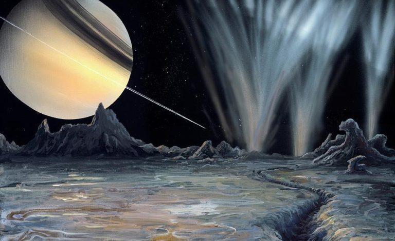 На спутнике Сатурна обнаружены признаки жизни