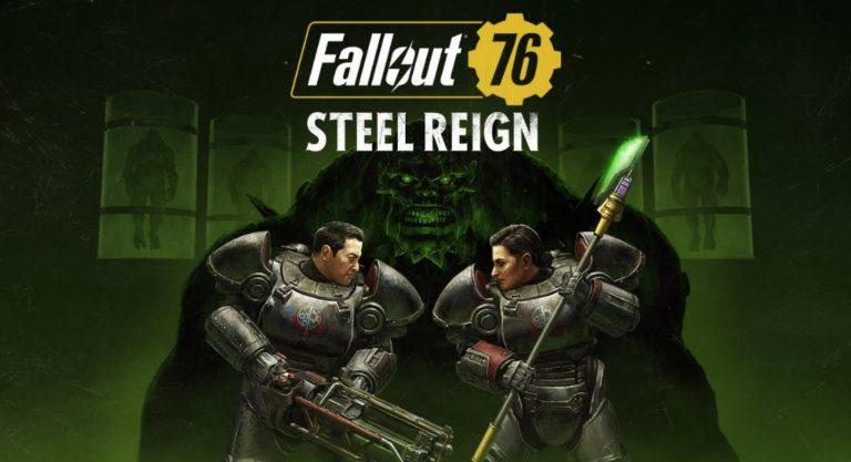 К онлайн — RPG Fallout 76 вышло обновление «Власть стали»