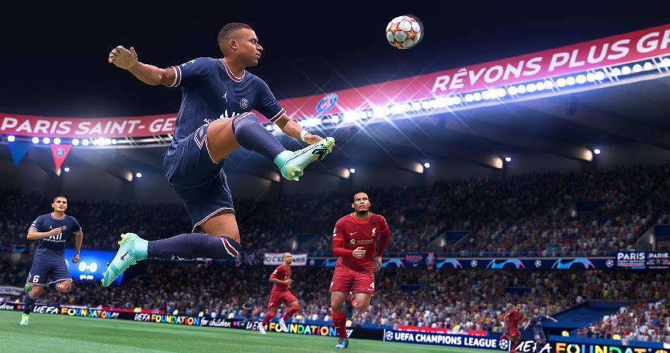 Electronic Arts в трейлере показала геймплей FIFA 2022