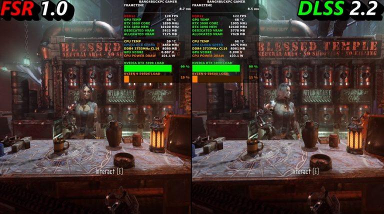 В сети появилось сравнение технологий масштабирования от AMD и Nvidia