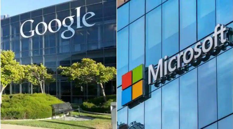 Google и Microsoft развязывают новую патентную войну