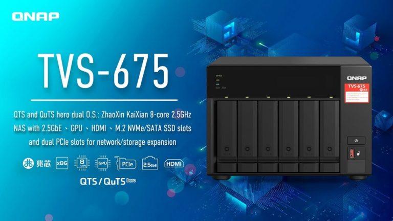Компания Qnap выпустила NAS — хранилище на базе китайского x86-64 процессора Zhaoxin
